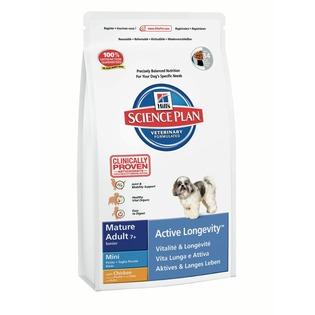 Купить Корм сухой для пожилых собак мелких пород Hill's Science Plan Mature Adult Mini 7+ с курицей