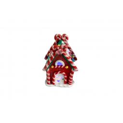 Купить Декорация с подсветкой Crystal Deco «Конфетный домик»