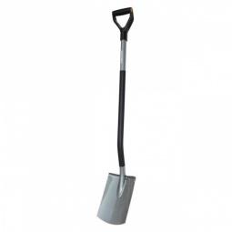 Купить Лопата садовая с закругленным лезвием Fiskars Ergonomic