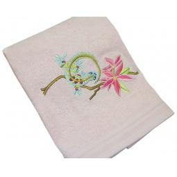 фото Полотенце подарочное с вышивкой TAC Lizard. Цвет: розовый
