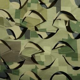 фото Сеть маскировочная Нитекс «Пейзаж-Профи». Рисунок: Милитари 3D