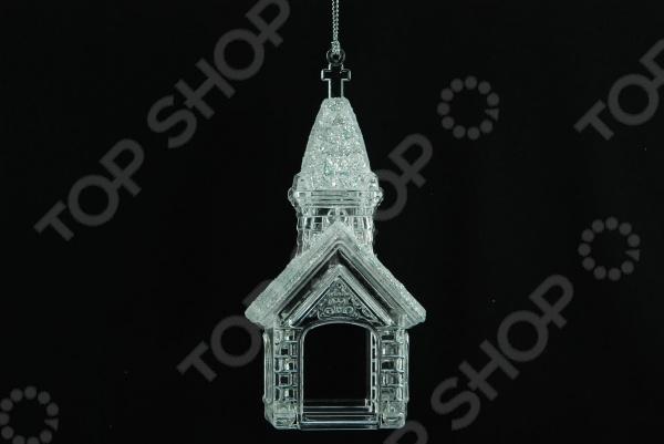 Елочное украшение Crystal Deco «Церквушка» елочное украшение crystal deco олень в ассортименте