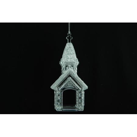 Купить Елочное украшение Crystal Deco «Церквушка»