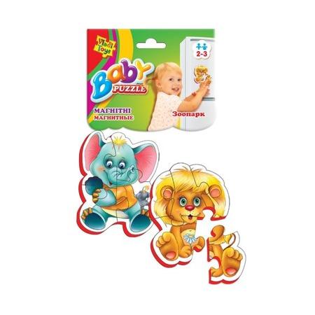 Купить Пазл магнитный Vladi Toys «Зоопарк»