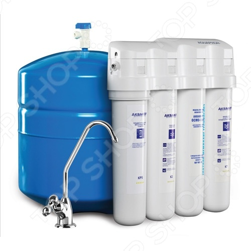 Водоочиститель Аквафор ОСМО-Кристалл-100-4 водоочиститель аквафор осмо 100 5 a 10л