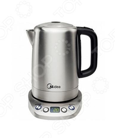 Чайник Midea MK-M317C2A-E8Чайники электрические<br>Чайник Midea MK-M 317 C 2 A-E 8 с уверенностью займет достойное место на вашей кухне. Программируемый электрический чайник емкостью 1,7 литра,. Благодаря мощности 2200 Вт и нагревательному элементу, вскипятит воду за несколько минут. Благодаря стильному дизайну впишется в любую современную кухню.<br>