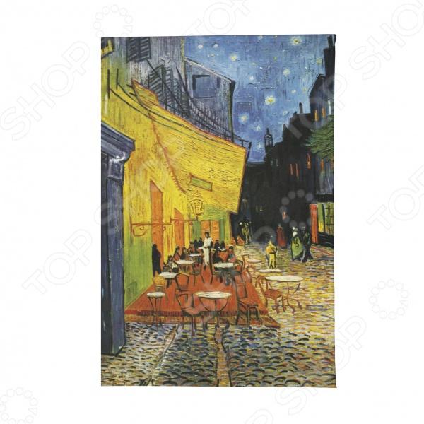 Обложка для паспорта Mitya Veselkov «Ван Гог. Терраса кафе ночью» обложка для студенческого билета mitya veselkov ван гог
