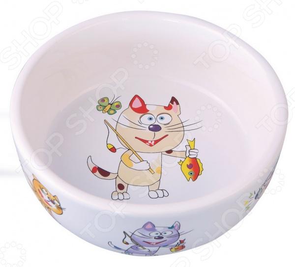 Миска для кошек DEZZIE «Улов» гамма миска для кошек и собак n1