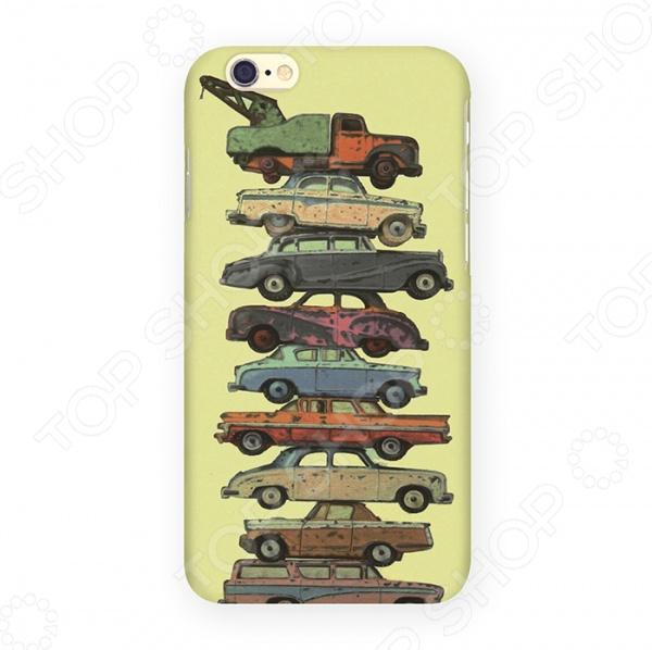 Чехол для iPhone 6 Mitya Veselkov «Тачки на прокачку» чехол для iphone 7 plus звездочки на черном ip7plus mitya 022 mitya veselkov