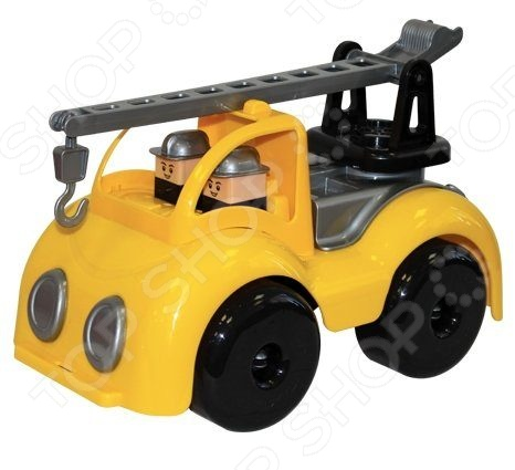 Машинка игрушечная ПЛЭЙДОРАДО «Кран строительный Крепыш»