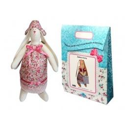 Купить Подарочный набор для изготовления текстильной игрушки Кустарь «Зайка Зоя»
