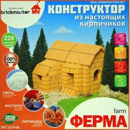 Купить Конструктор из глины Brick Master «Кирпичики. Ферма»