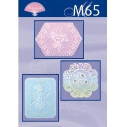 Купить Набор схем для парчмента Pergamano M65 Традиционные работы в белом цвете