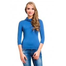 фото Водолазка Mondigo 211. Цвет: джинсовый. Размер одежды: 44