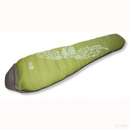фото Спальный мешок NOVA TOUR «Окси». В ассортименте. Цвет: зеленый, серый. Расположение молнии: правостороннее