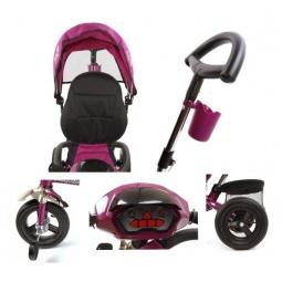 фото Велосипед трехколесный Moby Kids Style-2. Цвет: пурпурный
