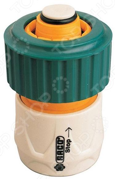 Соединитель шланг-насадка с автостопом Raco Original 4250-55206C соединитель шланг насадка raco original swivel system 4250 55276c