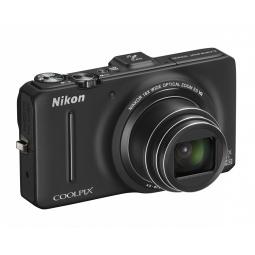 фото Фотокамера цифровая Nikon CoolPix S9300. Цвет: черный