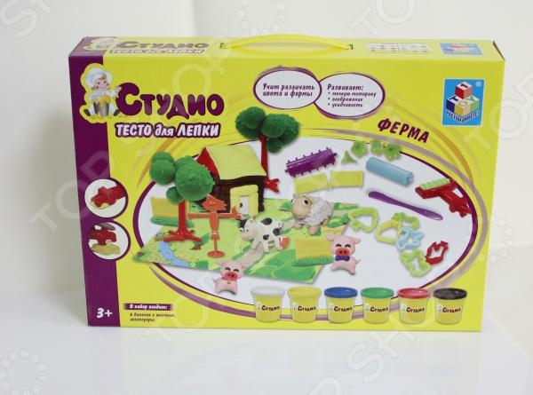 Набор теста для лепки 1 Toy «Ферма»