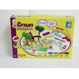 Купить Набор теста для лепки 1 Toy «Ферма»
