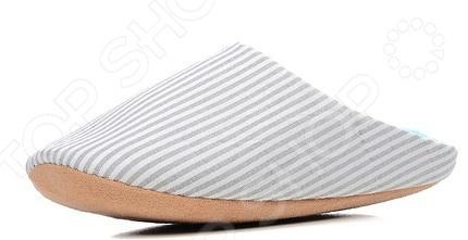 Тапочки домашние Burlesco H137. Цвет: серый