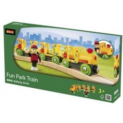 фото Паровозик игрушечный Brio «Парк развлечений» 33741