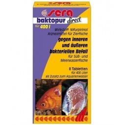 фото Средство лекарственное для аквариумных рыб Sera Baktopur direct
