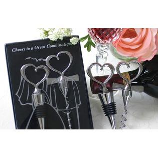 Купить Подарочный набор: штопор и пробка Bradex «Жених и невеста»