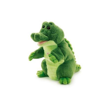 Купить Мягкая игрушка на руку Trudi Крокодил