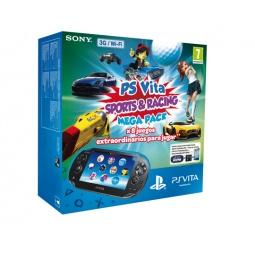 Купить Консоль игровая SONY PS Vita 3G/Wi-Fi 8Gb Sports & Racing Mega Pack