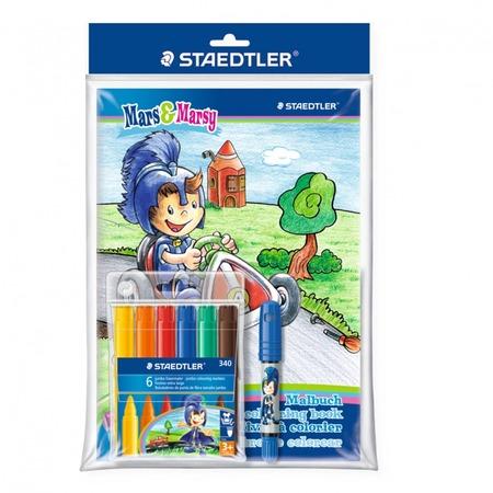 Купить Набор цветных маркеров Staedtler 340SET1BP