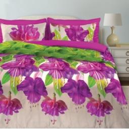 фото Комплект постельного белья Любимый дом «Фуксия». Евро