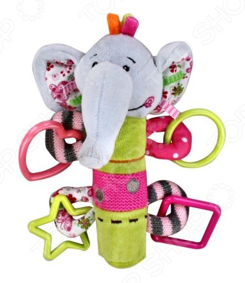 Игрушка-погремушка Жирафики «Слоник» игрушка для зубов people игрушка для зубов