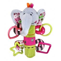 фото Игрушка-погремушка Жирафики «Слоник»