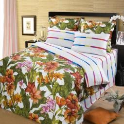 фото Комплект постельного белья АртПостель «Летний сад». 1,5-спальный
