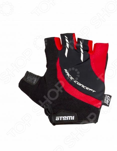 Перчатки велосипедные износостойкие Atemi AGC-03. Цвет: красный Atemi - артикул: 642679