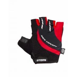 фото Перчатки велосипедные износостойкие Atemi AGC-03. Цвет: красный. Размер: XL