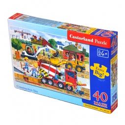 Купить Пазл 40 элементов MAXI Castorland «Стройка»