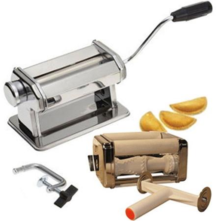 Машинка для изготовления пельменей Bekker BK-5202Принадлежности для заготовок<br>Машинка для изготовления пельменей Bekker BK-5202 представляет собой отличное дополнение для вашей кухни, с помощью которого вам удастся в ручную приготовить любое количество всеми любимого и сытного блюда. Используя машинку вы сможете в одиночку изготовить пельмени, а так же и раскатать необходимое для из приготовления тесто, регулируя его толщину. Побалуйте себя и своих близких вкусными пельменями, которые вы сделали самостоятельно. В набор входит: блок для раскатки теста, регулятор толщины теста, блок для изготовления пельменей, ручка, нож для резки теста, фиксатор. Рекомендована сухая чистка.<br>