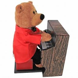 Купить Мягкая игрушка интерактивная «Медвежонок пианист»