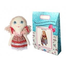 Купить Подарочный набор для изготовления текстильной игрушки Кустарь «Анечка»