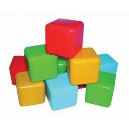 Купить Кубики ПЛЭЙДОРАДО цветные