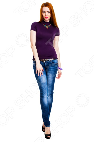 Водолазка Mondigo 037. Цвет: темно-фиолетовый