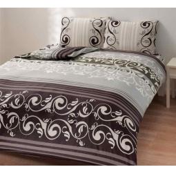 фото Комплект постельного белья TAC Julien. 1,5-спальный. Цвет: серый