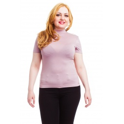 фото Водолазка Mondigo XL 037. Цвет: розовый. Размер одежды: 48