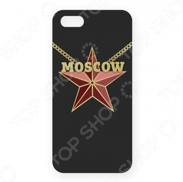 Чехол для iPhone 5 Mitya Veselkov Moscow Star
