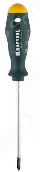 Отвертка крестовая Kraftool Pro отвертка kraftool 25550 h10