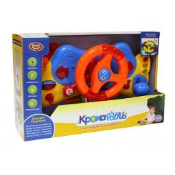 фото Игрушка развивающая для малыша PlaySmart «Руль музыкальный». В ассортименте