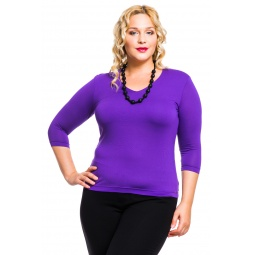 фото Кофта Mondigo XL 052. Цвет: фиолетовый. Размер одежды: 50
