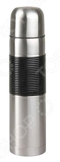 Термос Rosenberg 99105-QТермосы и термокружки<br>Термос Rosenberg 99105-Q представляет собой устройство для длительного хранения горячих и холодных напитков при постоянной температуре. Он станет прекрасным дополнением к набору ваших кухонных принадлежностей и пригодится для использования в поездке или походе. Термос изготовлен из высококачественной, не вступающей в реакции окисления, нержавеющей стали и снабжен узким горлышком и изолированной вакуумной крышкой.<br>